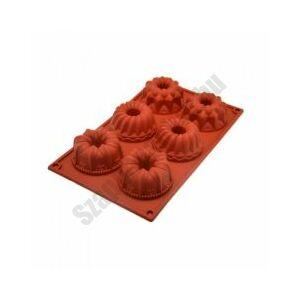 Szilikon forma - 6 mini kuglóf