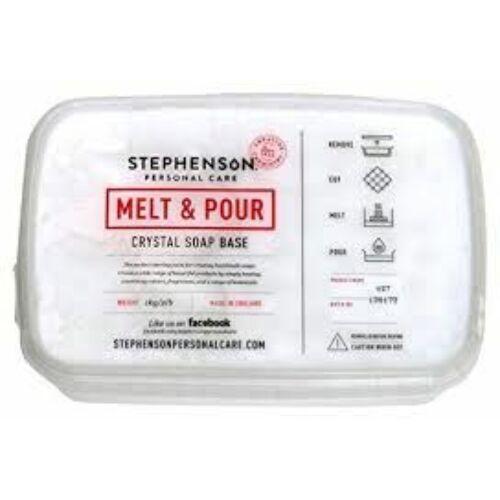 Melt & Pour kecsketejes fehér szappanalap 1 kg