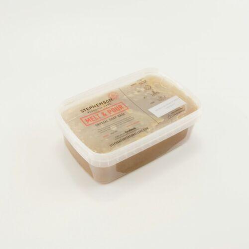 Melt & Pour szappanalap afrikai fekete szappanos 1 kg