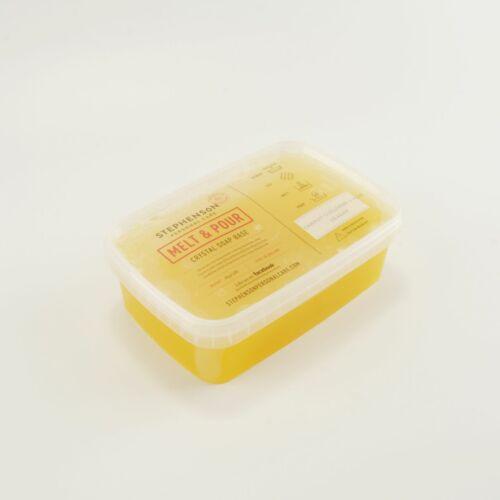 Melt & Pour szappanalap répás, uborkás & aloe verás 1 kg