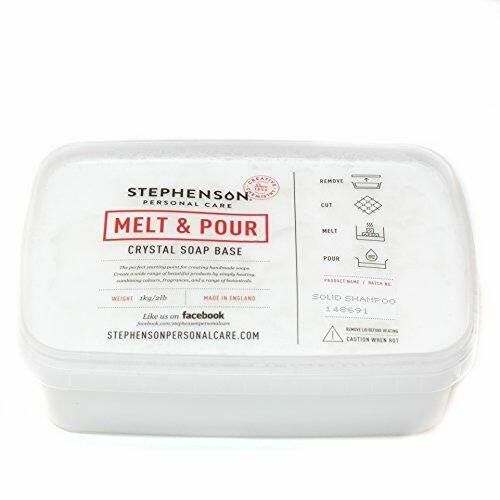 Melt & Pour szappanalap szilárd sampon 1 kg