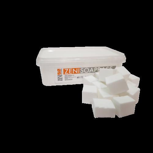 Zeni fehér SLS-mentes szappanalap 1 kg