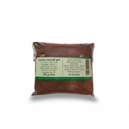 Barna vasoxid por 100 g