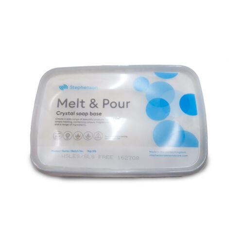 Melt & Pour SLS és SLES mentes fehér szappanalap - 1 kg