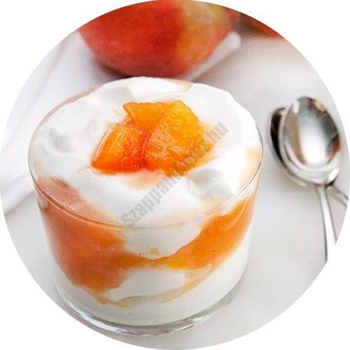 Őszibarack-joghurt illatolaj 10 ml