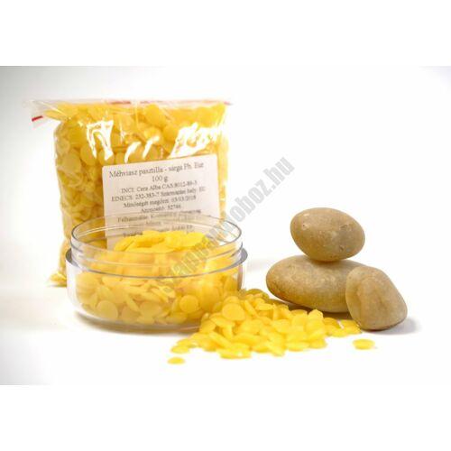 Méhviasz pasztilla (sárga)